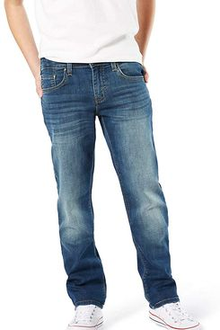 Signature by Levi Strauss & Co. Big Boys' Slim Straight Fit Jeans