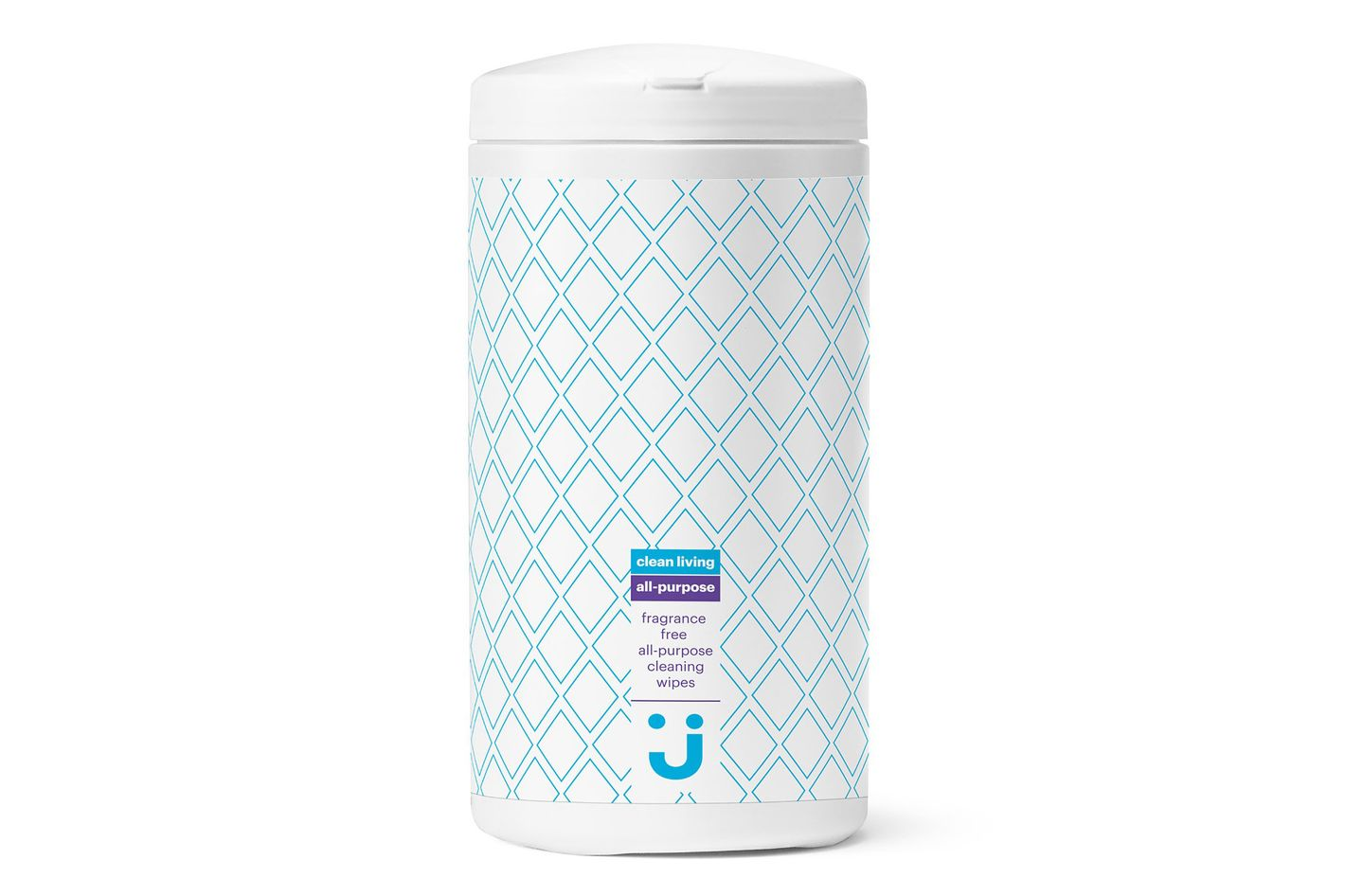 Uniquely J Clean Living All-Purpose Cleaning Wipes, Fragrance-Free, 75 Count