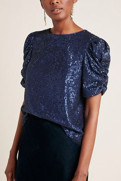 Marie Sequined Blouse