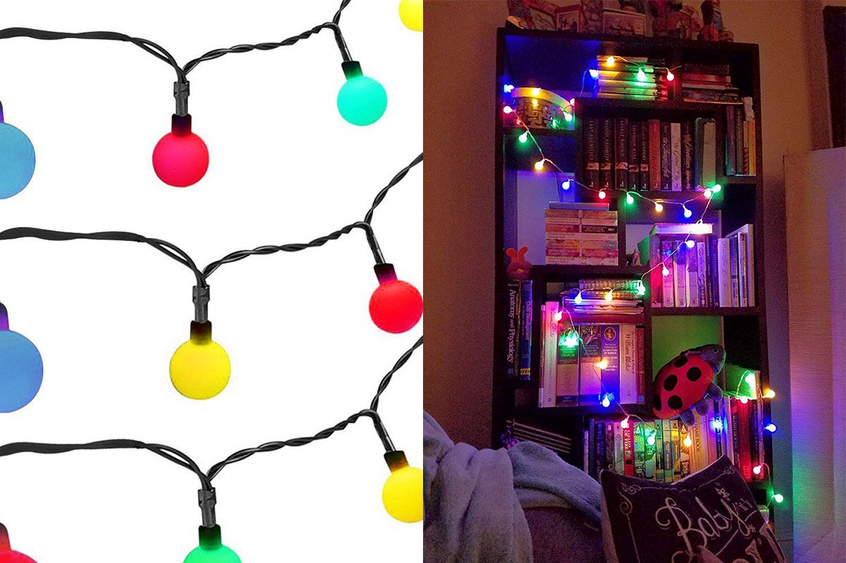 best christmas lights - Decorating With Colored Christmas Lights