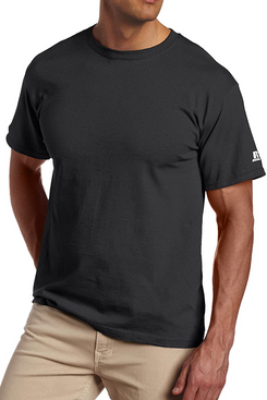 Russell Athletic Men's Basic Cotton T-Shirts