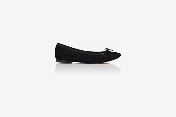 Repetto Cendrillon Suede Ballet Flats