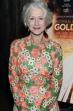 Helen Mirren/WOMAN IN GOLD Cocktail reception At Elyx House New York