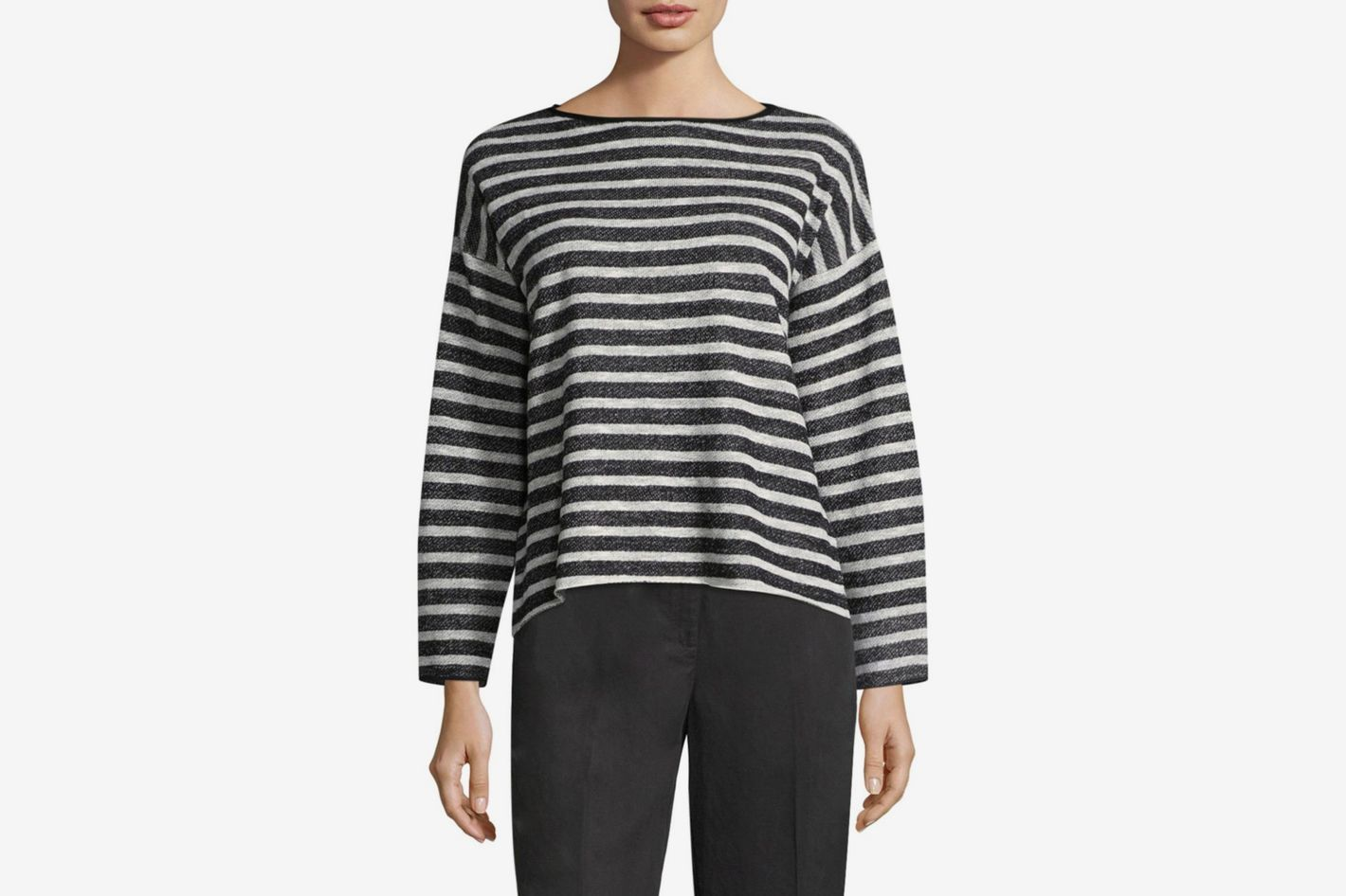 Eileen Fisher Striped Sweater