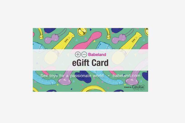 Babeland E-Gift Card