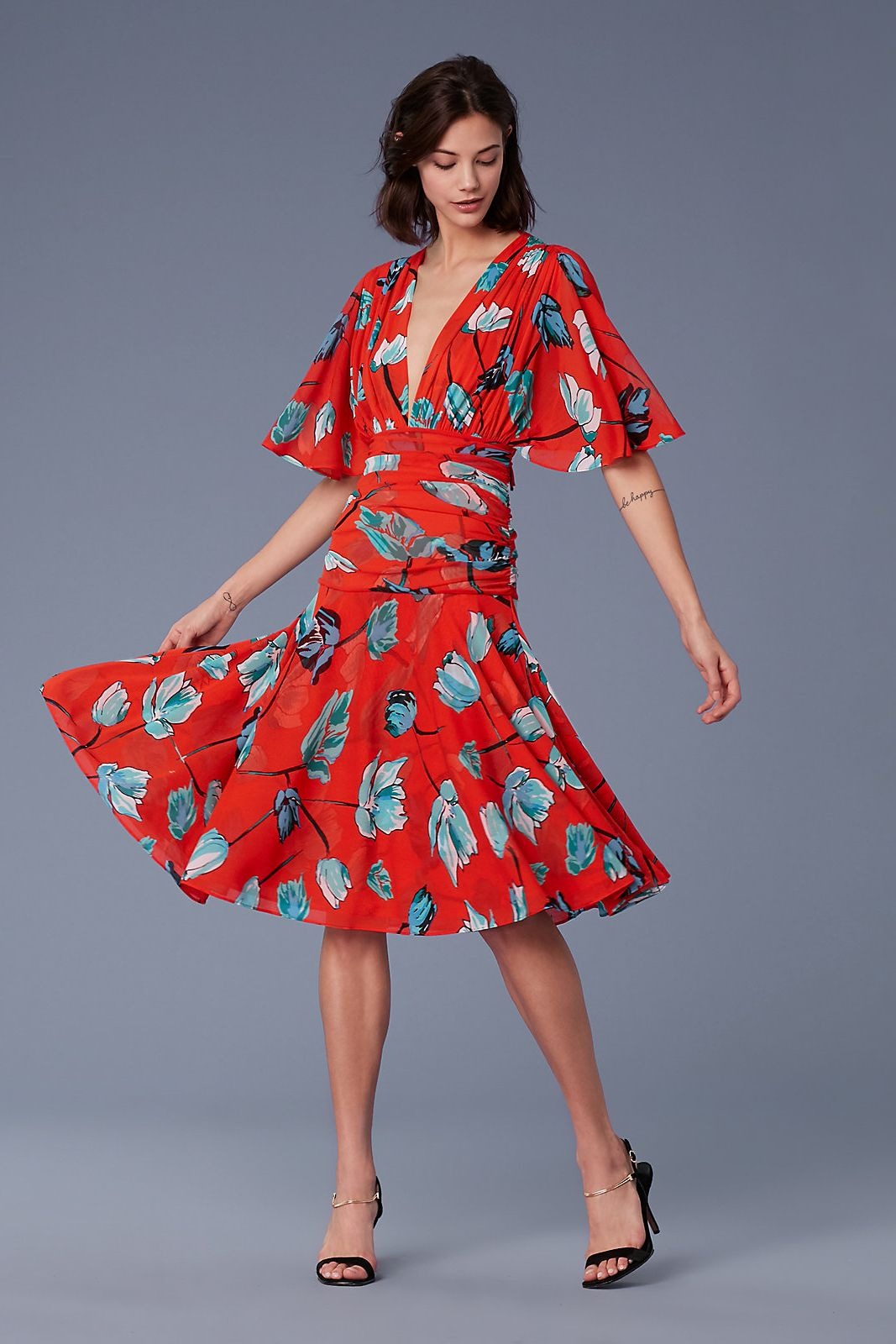 The DVF Asher Mesh Dress
