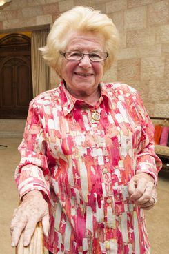 2014 Holocaust Remembrance Ceremony With Dr. Ruth Westheimer