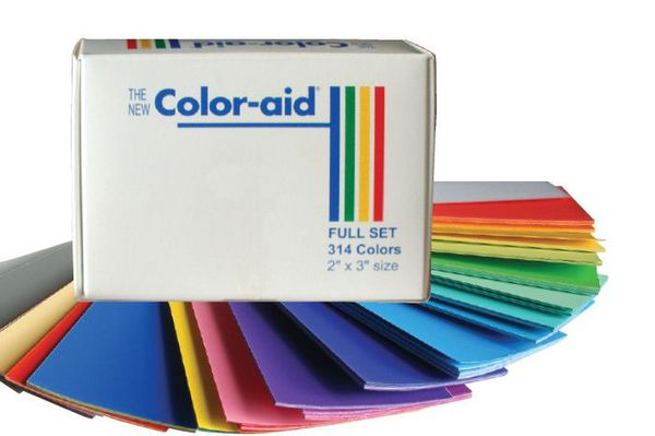 Color-aid Full Set of 314 Color Swatches