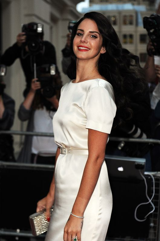 Lana Del Rey attends the GQ Men of the Year Awards 2012 at The Royal Opera House on September 4, 2012 in London, England.