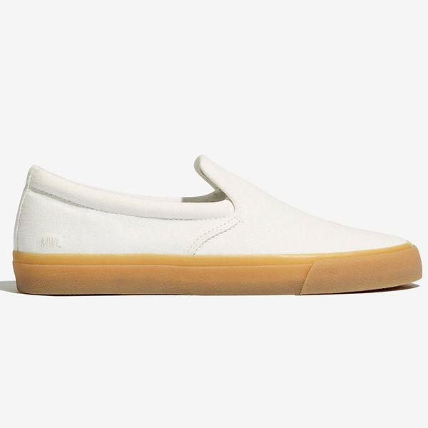 Madewell Sidewalk Slip-On Sneakers in Recycled Canvas