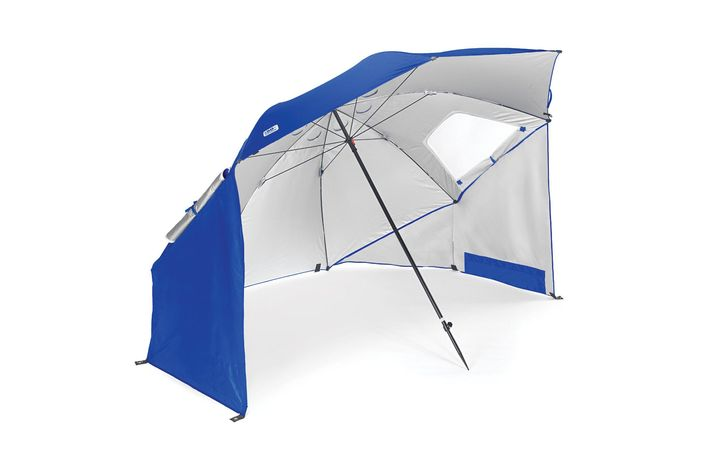 One Of The Newest Features In Beach Umbrella Technology Is Telescoping Pole Which Stands At About A 45 Degree Angle Much Like Telescope Pointing