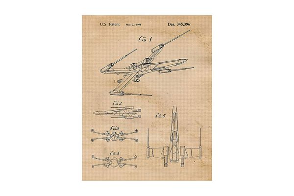 X-Wing Patent Picture