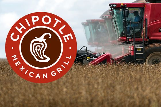 The company's moving away from soybean oil, which is usually made from GMOs.