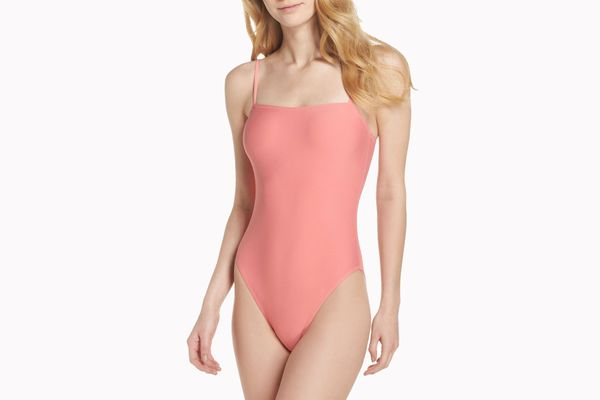 J. Crew Maggie Baby Bow Back One-Piece Swimsuit