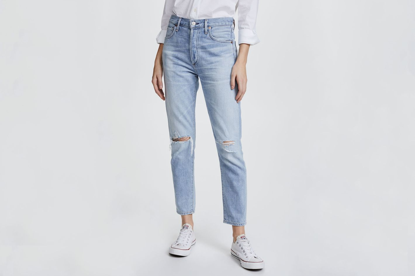 ae902e6a Citizens of Humanity Liya High Rise Classic Fit Jeans