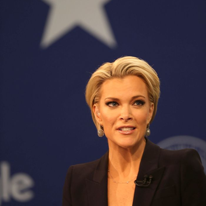 Megyn Kelly, who's fed up with your opinions.