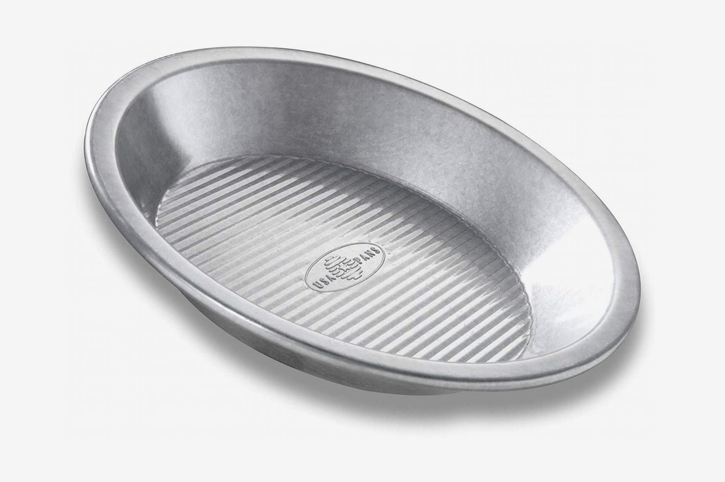 USA Pan Bakeware Aluminized Steel Pie Pan, 9-Inch