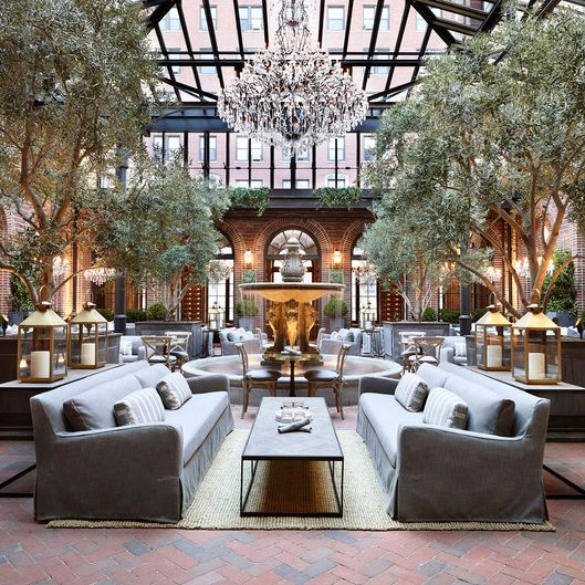 Restoration Hardware Cafe : Restoration hardware building restaurant empire grub street