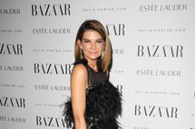 Natalie Massenet attends the Harper's Bazaar Women Of the Year Awards 2011 at Claridges Hotel on November 7, 2011 in London, England.
