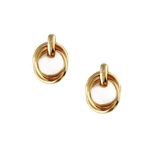 Orelia Mini Interlocking Earrings