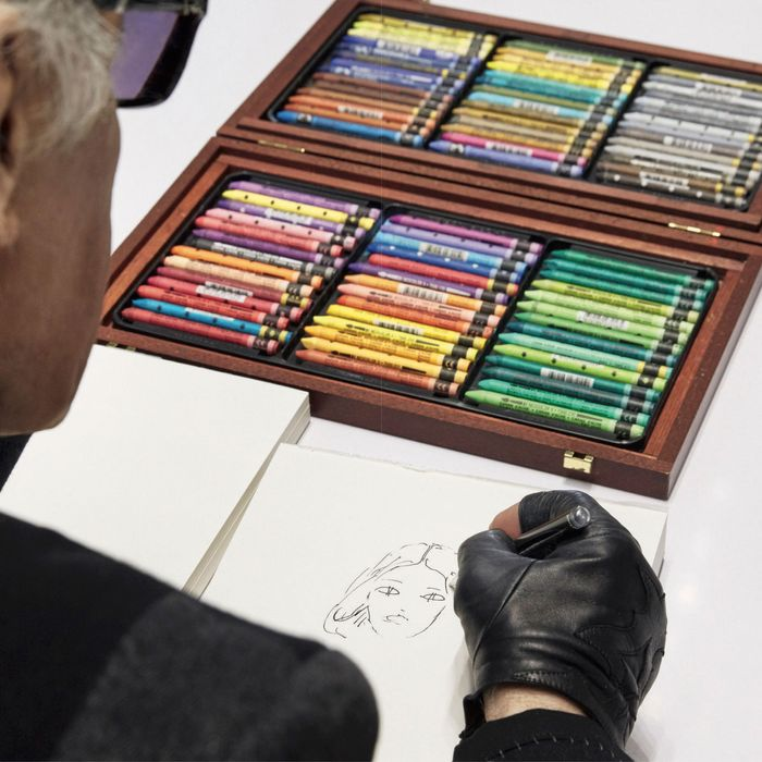 Karl Lagerfeld has sketched over 50,000 designs for Fendi since becoming creative director in 1965.