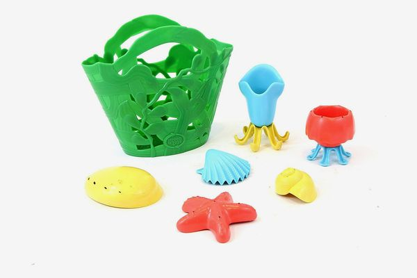 Green Toys Tide Pool Bath Toy Set, Assorted