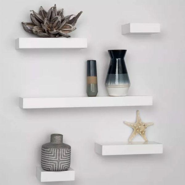 5-Piece Modern Wall Shelf Set