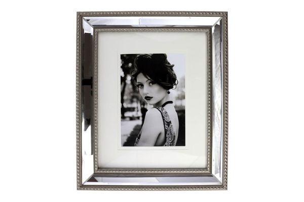 Mirrored Frame With Mat, Portrait Collection by Studio Décor
