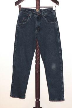 Cabelas 30 x 30 Fleece Lined Denim Jeans Tapered Leg