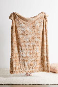 Pine & River Faux Fur Sherpa Throw Blanket