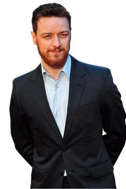 """Scottish actor James McAvoy poses for pictures on the red carpet as he arrives to attend the world premiere of his latest film """"Trance"""" in central London on March 19, 2013."""