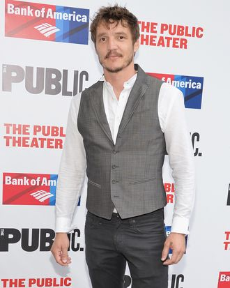 NEW YORK, NY - JUNE 23: Actor Pedro Pascal attends the Public Theater's 2014 Gala celebrating