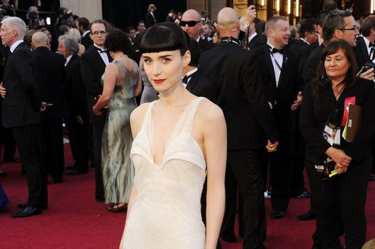Actress Rooney Mara arrives at the 84th Annual Academy Awards