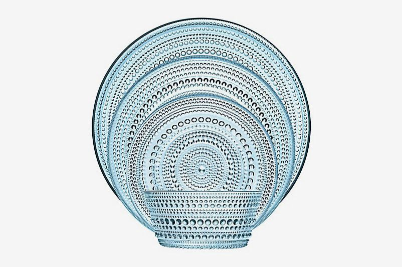 Iittala Kastehelmi Dinnerware Collection in Light Blue