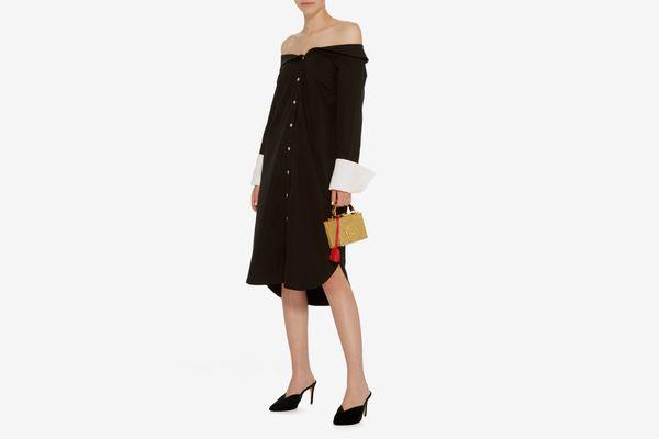 Monographie Classic Off Shoulder Dress