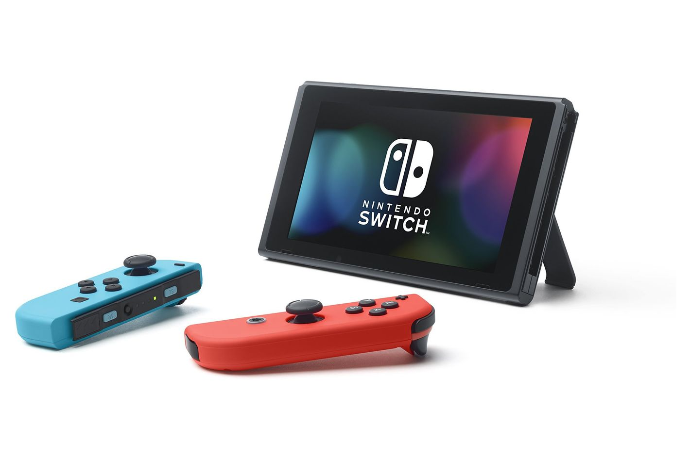 Nintendo Switch — Neon Blue and Red Joy-Con