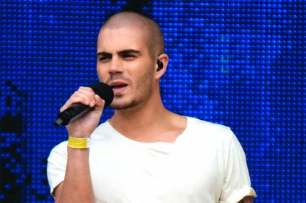 Max George of the British-Irish boy band 'The Wanted' performs at T4 On The Beach on July 1, 2012 in Weston-Super-Mare, England.
