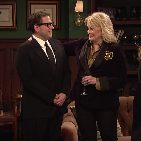 Jonah Hill on Saturday Night Live.