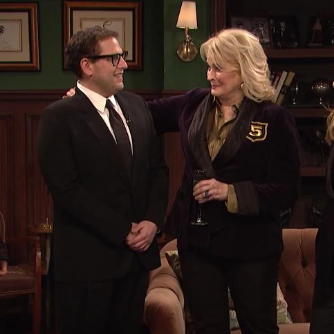 Jonah Hill on Saturday Night Live.