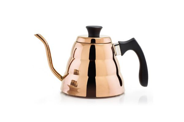 Old Dutch International DuraCopper Precise Coffee and Tea Pour-Over Kettle