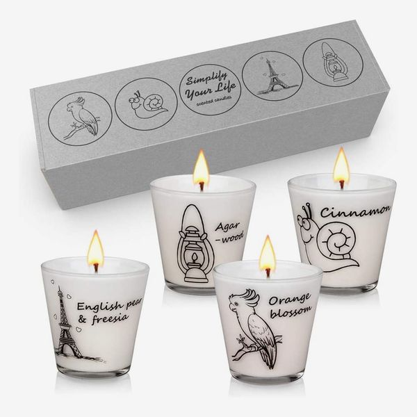 YMing Scented Candles Gift Set