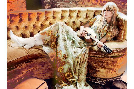 Taylor Swift, shot by Mario Testino.