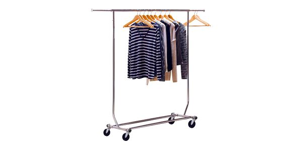 DecoBros Supreme Commercial Grade Clothing Garment Rack