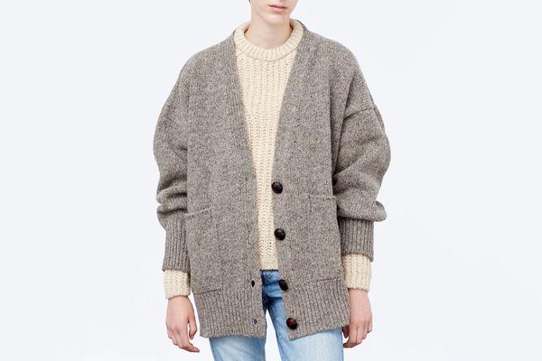 Babaà knit coat