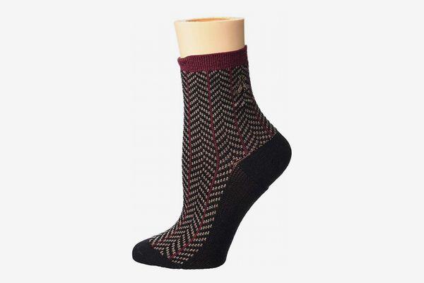 Pendleton Herringbone Anklet Socks