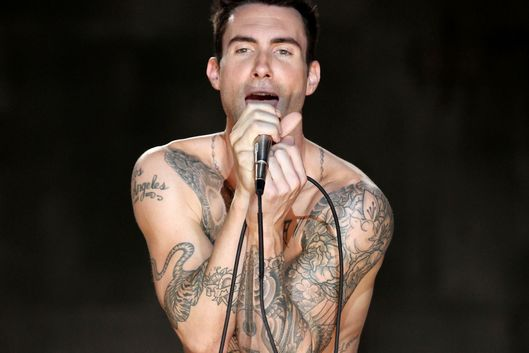 An exhaustive taxonomy of adam levine s tattoos the cut for Adam levines tattoos