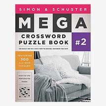 Simon & Schuster Mega Crossword Puzzle Book #2