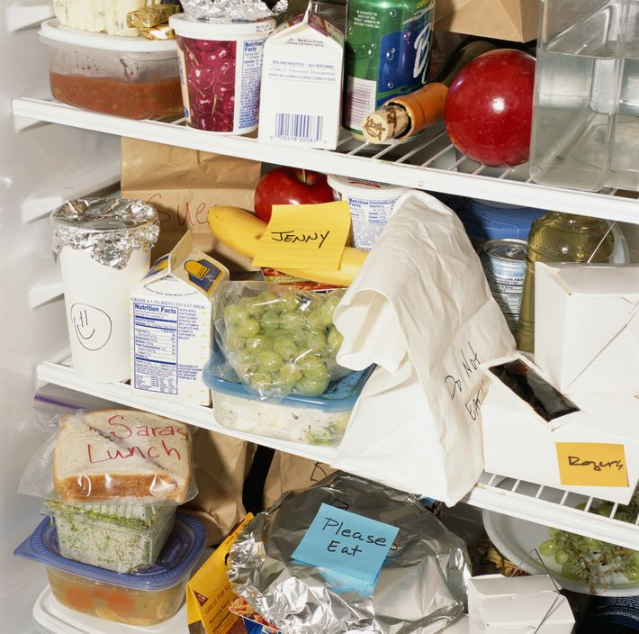 Messy Fridge: Damn, Just A Good Thread About A Lunch Thief