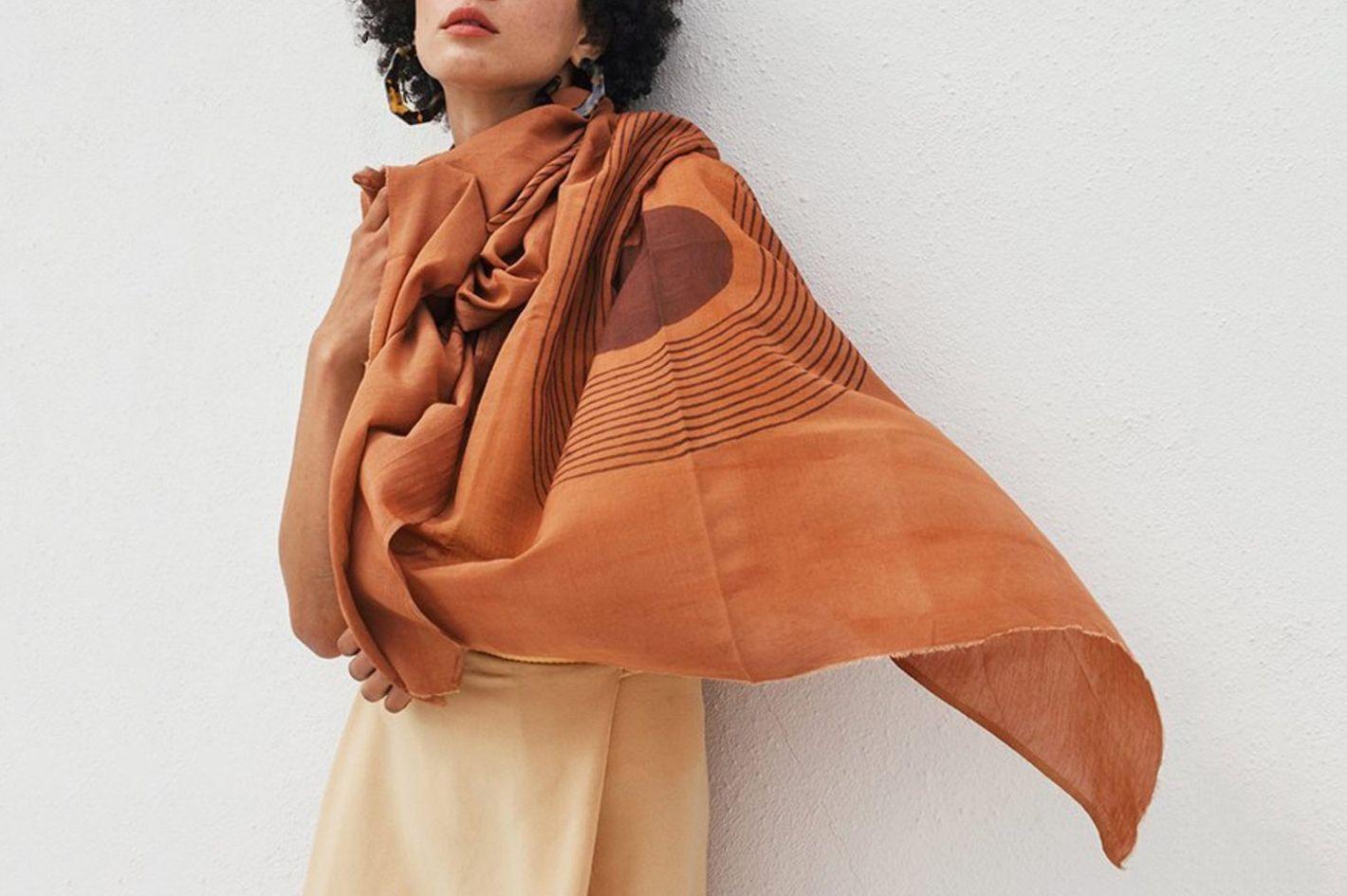 Block Shop Textiles Sunwave Scarf