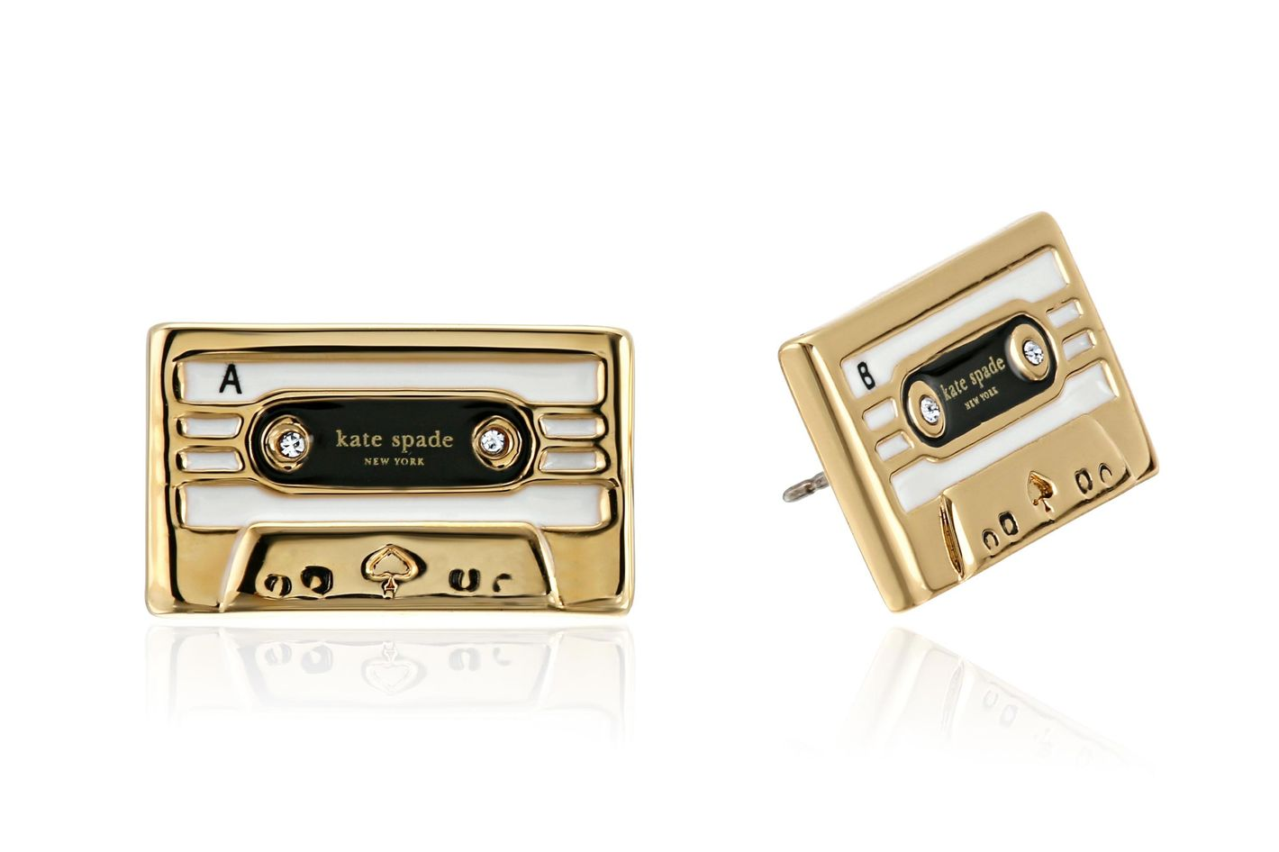 Kate Spade Cassette Stud Earrings
